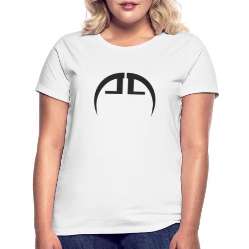 halb schwarz - Frauen T-Shirt