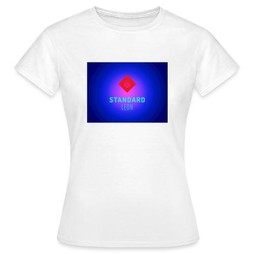StandardLeon YouTube Logo - Frauen T-Shirt