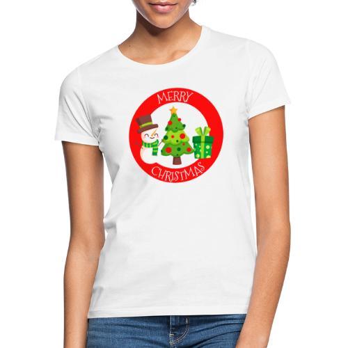 merry christmas 01 - Camiseta mujer