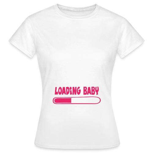 Loading baby - rose - T-shirt Femme