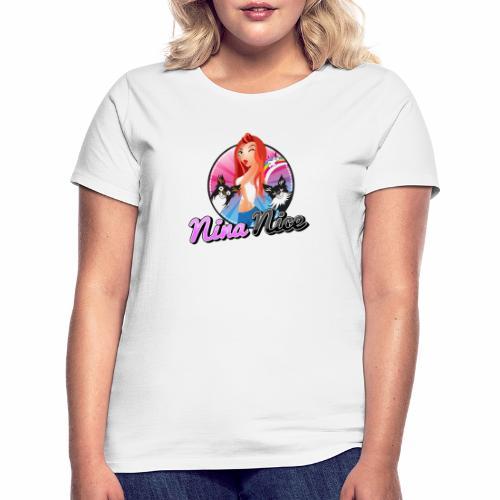 Nina Nice Logo - Frauen T-Shirt