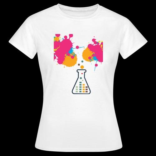 FarbeKlecks - Frauen T-Shirt
