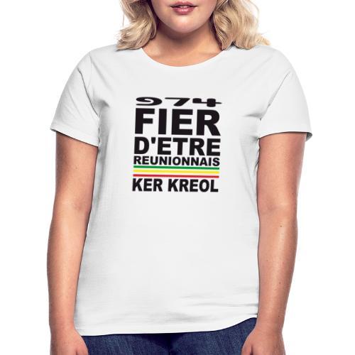 974 ker kreol fier et culture - T-shirt Femme