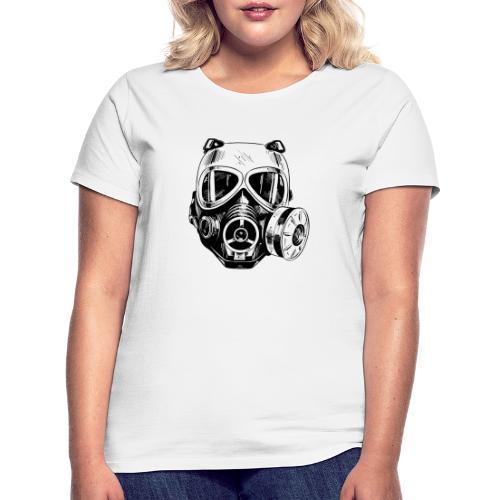 Gas Mask - Koszulka damska