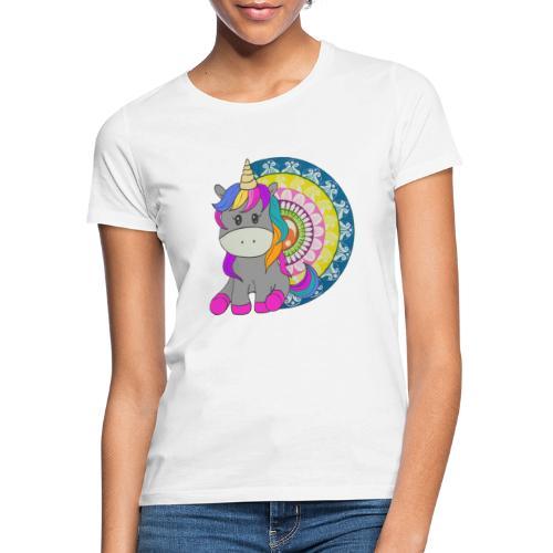 Unicorno Mandala - Maglietta da donna