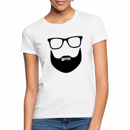 Plum Bart Schwarz - Frauen T-Shirt