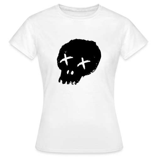 blackskulllogo png - Women's T-Shirt