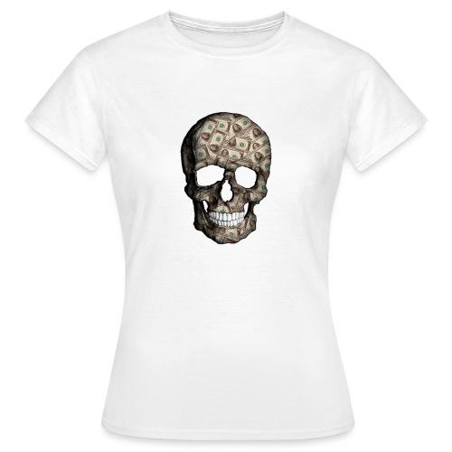Skull Money - Camiseta mujer
