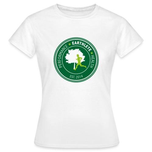EARTHLETE Brand Logo - Dame-T-shirt
