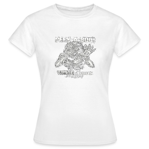 peek a boo zombie Jesus sees you - Women's T-Shirt