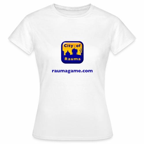 Raumagame logo - Naisten t-paita
