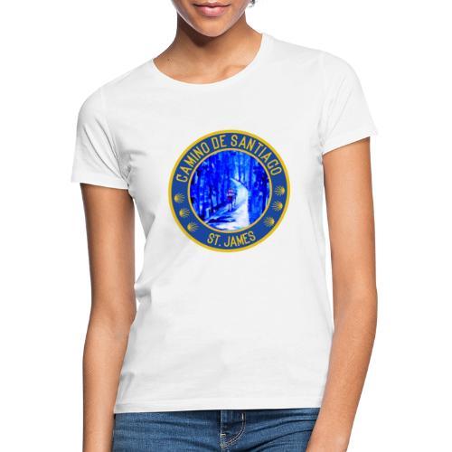 Jakobsweg: Camino de Santiago/ St. James - Frauen T-Shirt
