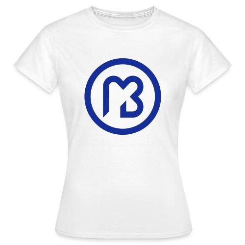 Mark Blast logo RVB macaron bleu - T-shirt Femme