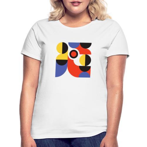 Bauhaus no 1 - Dame-T-shirt