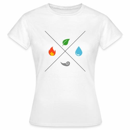 Les 4 éléments - T-shirt Femme