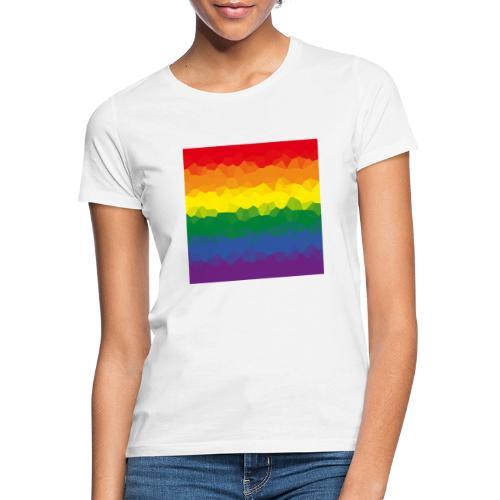 LGBT Flaggen Mosasaik - Frauen T-Shirt