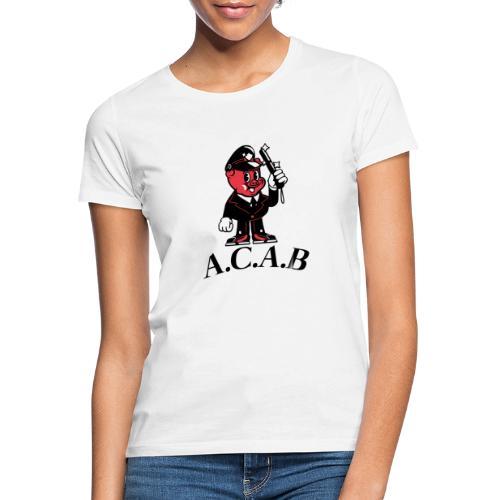 A.C.A.B cochon - T-shirt Femme