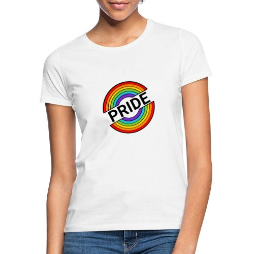 Pride regnbue - Dame-T-shirt