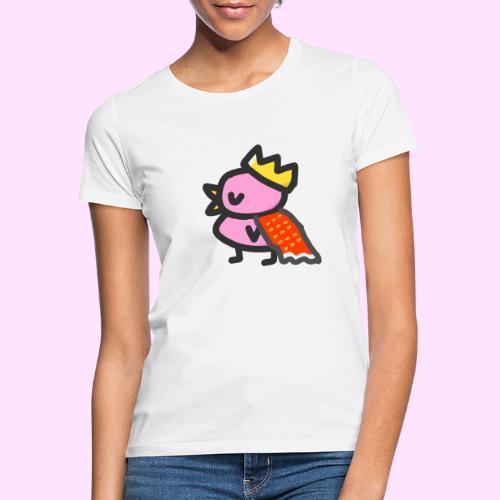 Royal Pinkguin - Dame-T-shirt