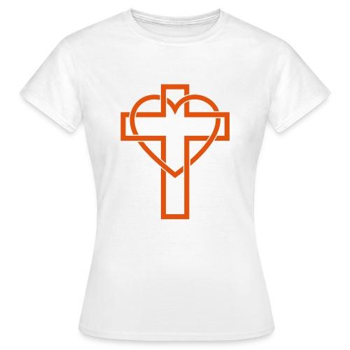 Croix Glorieuse d'Amour - Jésus - T-shirt Femme