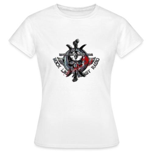 Blood Skull Logo - T-shirt dam