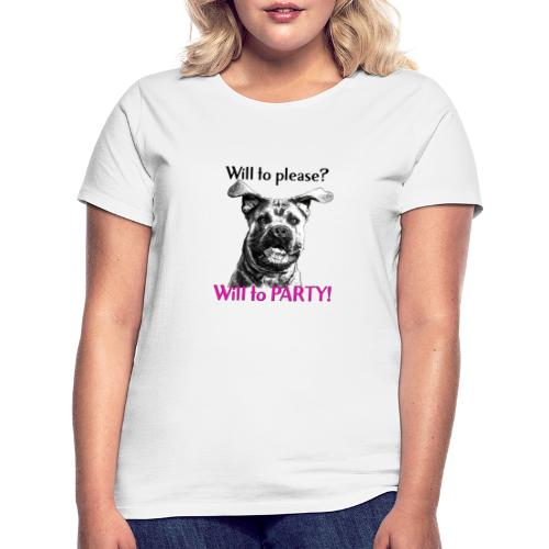 will to PARTY cane corso - T-shirt dam