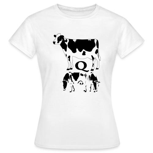 KUH,Q - Frauen T-Shirt