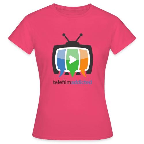 Telefilm Addicted Logo - Maglietta da donna