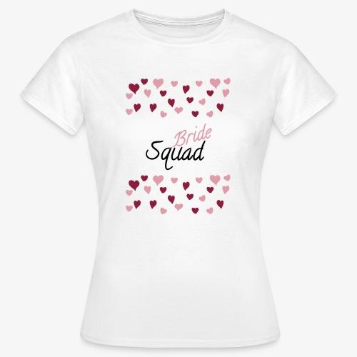 Bride Squad - Camiseta mujer