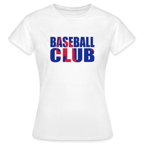 Baseball club logo shad - T-shirt Femme