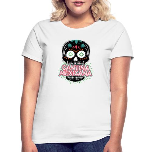Totenkopf Logo Schwarz - Frauen T-Shirt