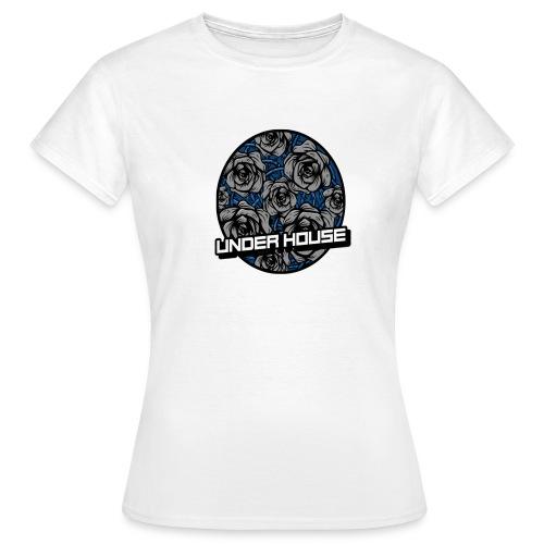 UNDER HOUSE ROSAS - Camiseta mujer