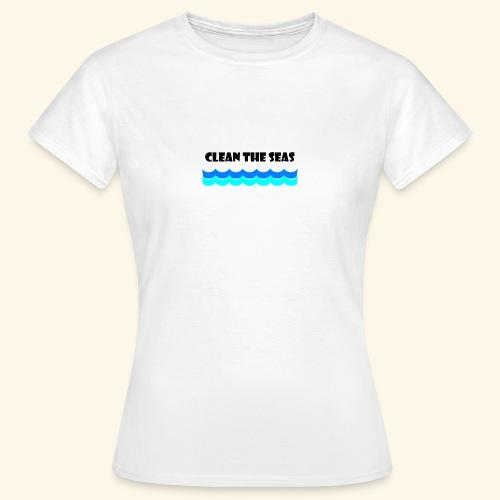 clean the seas - Frauen T-Shirt
