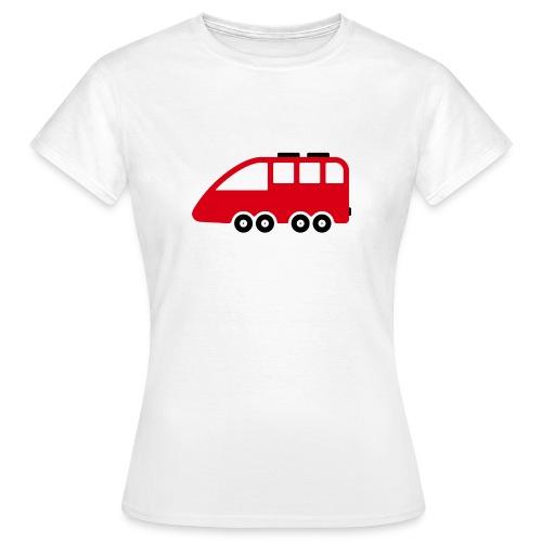 Bus Comic - Frauen T-Shirt