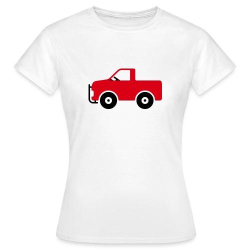 Pick-Up Comic - Frauen T-Shirt