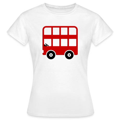 Doppeldecker Bus Comic - Frauen T-Shirt