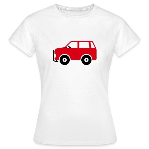Auto Comic - Frauen T-Shirt