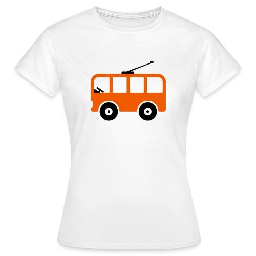 Bahn Comic - Frauen T-Shirt