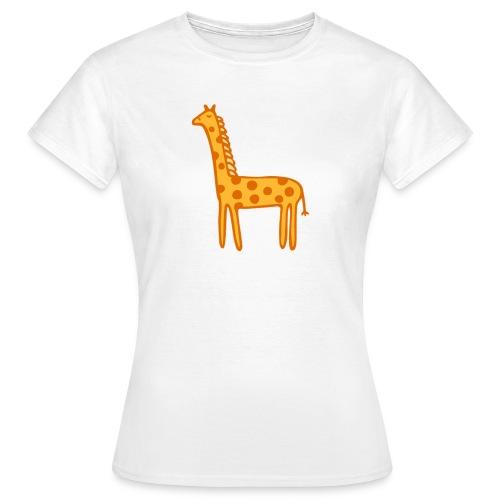 Kinder Comic - Giraffe - Frauen T-Shirt