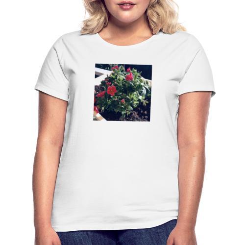 Blumen Foto - Frauen T-Shirt