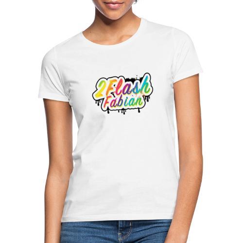 2Flash Fabian weiß - Frauen T-Shirt