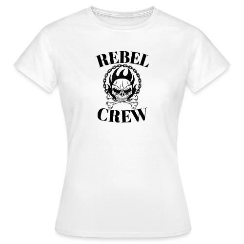 rebel crew - T-shirt Femme
