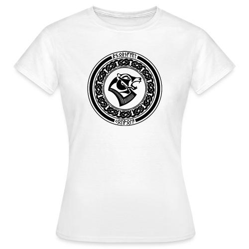 BjornfellRisingBlack - Naisten t-paita