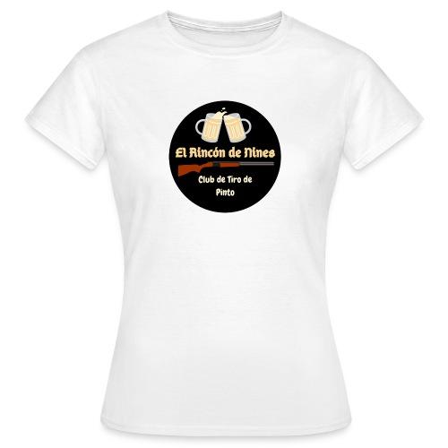 Logo Cafeteria de Pinto - Camiseta mujer
