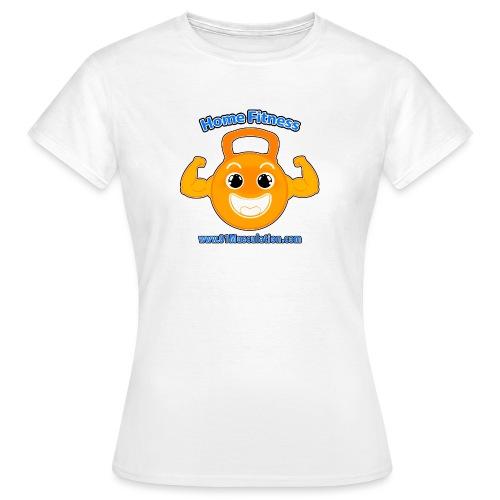 Logo 01Musculation Home Fitness Kettlebell - T-shirt Femme