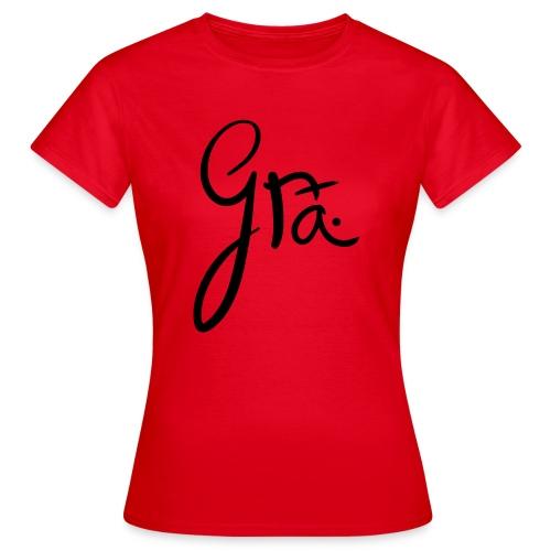 logo-trans-ai - Vrouwen T-shirt