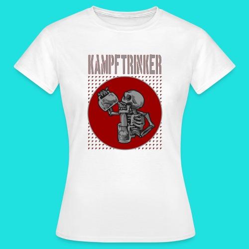 Kampftrinker - Frauen T-Shirt