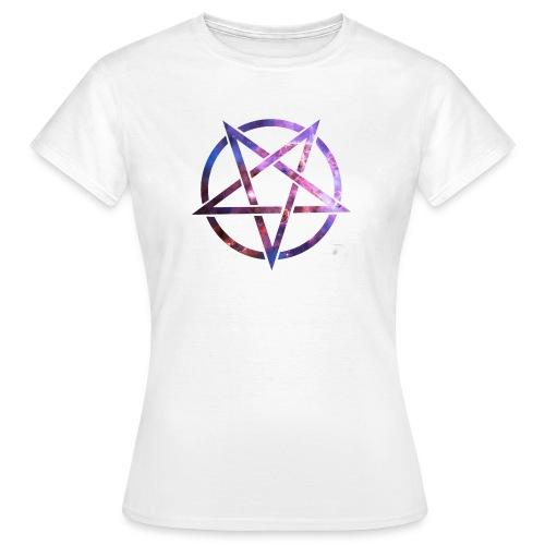 Cosmic Pentagramm - Women's T-Shirt