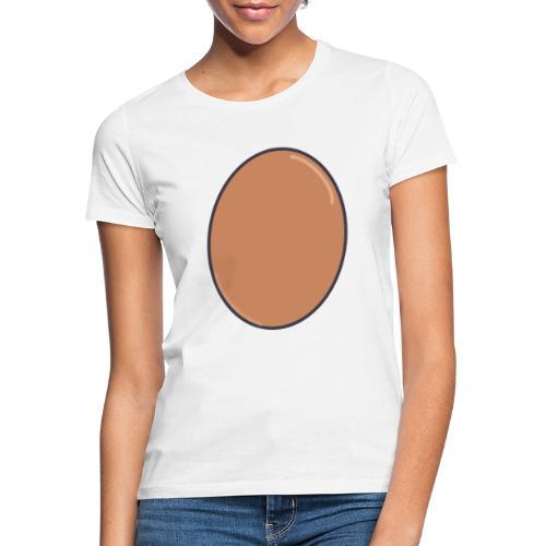 LIFE IS EGGCELLENT - T-shirt dam