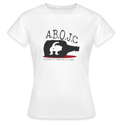 A.B.O.J.C - T-shirt Femme